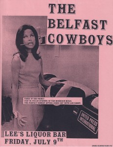Flyer Belfast Cowboys MTM